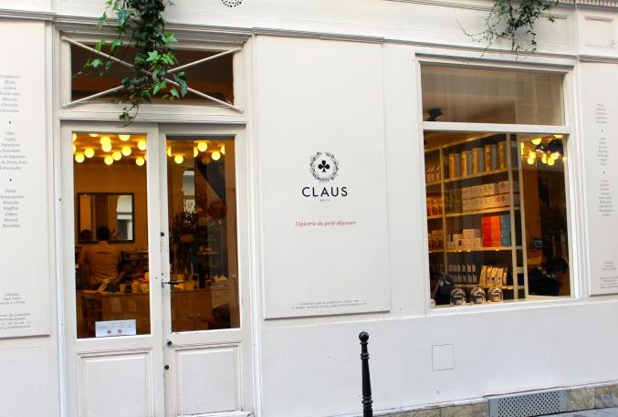 Claus 14 rue Jean-Jacques Rousseau - Paris